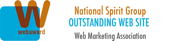 National Spirit Group - Outstanding Website - Web Marketing Association